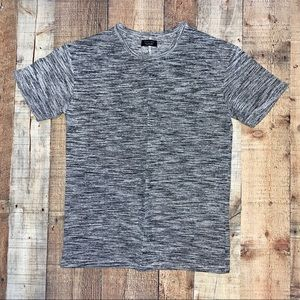 Zara Man | Gray Short Sleeve T-Shirt